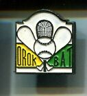 RARE PINS PIN'S .. SPORT PELOTE PAYS BASQUE CHISTERA FRONTON OROK BAT 64 ~CT