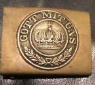 Imperial German, (M1847-M1895) Enlisted Man's Belt Buckle, Kingdom of Prussia