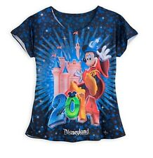 Disneyland Parks Authentic Sorcerer Mickey Mouse Shirt Womens Size Small Gift !