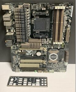 ASUS Sabertooth 990FX R2.0 Motherboard Socket AM3+ DDR3 ATX with I/O Shield