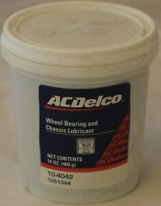 Wheel Bearing And Chassis Lubricant 14oz  GM 1051344 ACDelco10-4042 In Stock
