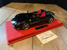 Ferrari Monza SP2 New Black Daytona 1:18 BBR DMC new P18165A
