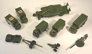 Dinky toy military vehicle collection