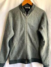 Ibex 100% Wool Bomber Jacket - Size Med