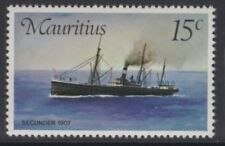 MAURITIUS SG502w 1976 MAIL CARRIERS WMK CROWN TO RIGHT OF CA MNH