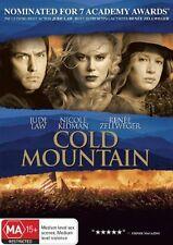 Cold Mountain DVD BRAND NEW ROMANCE Jude Law NICOLE KIDMAN Renee Zellweger R4