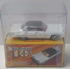 ●NEW●2009 Matchbox Superfast 40th Anniversary #4 '69 Cadillac Sedan Deville●BB1
