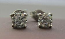 Butterfly Good Cut White Gold Fine Diamond Earrings