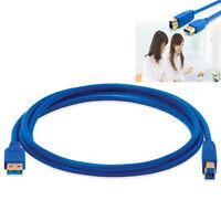 USB3.0-Daten-Kabel 0.3-3m Typ A-Stecker auf B-Stecker fr Drucker+Festplatte Neu