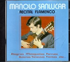 Manolo Sanlucar - Recital Flamenco CD 1992