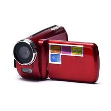 Portable HD Digital Video Camcorder Camera DV DVR 1.8'' TFT LCD 4x ZOOM Red