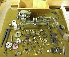 Uni2, Austrian Unimat SL- DB200 lathe, lots of attachments & assessories in box