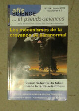 AFIS... science and pseudo-sciences. no. 284. january 2009.