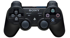 Official Sony Playstation 3 Dualshock 3 Controller Black RB for PS3 Game Console