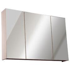 kleankin  Armoire murale miroir salle de bain 3 portes 3 étagères dim. 90L x 14l