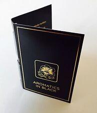 Piante aromatiche in BLACK PROFUMO campione Clinique 1.5ml UK