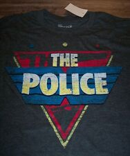 VINTAGE STYLE THE POLICE Band T-Shirt MEDIUM NEW w/ TAG