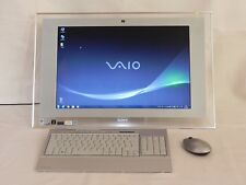 PC SONY VAIO VGC-LT2S (All-in-One) - 22' 2,1GHz 4GB 250GB Win7 HP 32bit