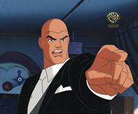 Warner Brothers Animated Series Original Prod Cel-Lex Luthor-World's Finest Pt 2
