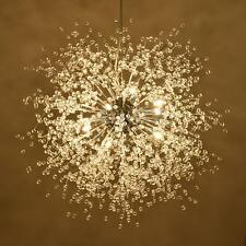 Modern Dandelion LED Chandelier Fireworks Pendant Lamp Ceiling Light Home Decor