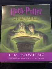 Harry Potter & The Half-Blood Prince Unabridged 17-CD Audiobook By J.K. Rowling!