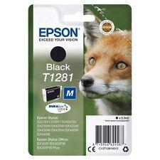 Epson T1281 Original Drucker-Tintenpatronen Schwarz DURABrite Ultra Ink 5,9ml