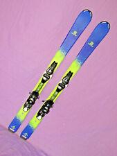 Salomom QST MAX Jr kid's skis 130cm w/ Salomon EZY Track 7 DEMO adjust bindings~