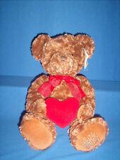 Russ Bear Cuddleberry Edible Arrangements Red Heart Plush