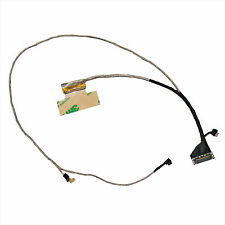 "LED LCD Screen HP touchsmart 15-F 15.6"" Flex LVDS Video Cable DD0U86LC240 40pin"