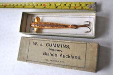 A FINE VINTAGE TUBE PHANTOM WITH CARD AND W J CUMMINS BOX