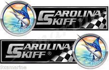 "Two Carolina Skiff 10"" Long Stickers. Remastered"