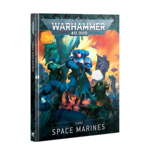 Codex Space Marines 9th Edition 2020 Warhammer 40K Book NEW