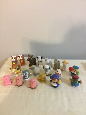 Fisher Price Little People  Mixed Lot of 19 - People/ Animals