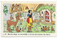 Carte Postale - WALT DISNEY - Edition Superluxe Paris  Blanche Neige  N°4