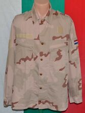 Holland Army Dutch DESERT CAMOUFLAGE Uniform SHIRT sz. XL