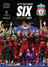Let's Talk About Six Baby! Liverpool FC Official Champions of Europe Souvenir