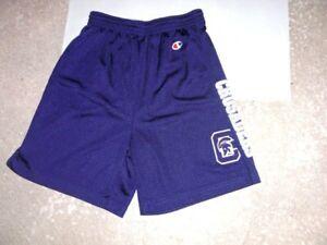 CAPITAL UNIVERSITY purple Champion athletic Shorts men's Medium