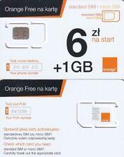 POLAND Orange GSM mint