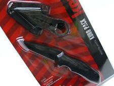 KERSHAW Black KURO Assisted TANTO Folding Knife + NECK Knife Set! 1835TBLKKITX