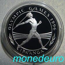 TONGA 1994 1 PA´ANGA PLATA  PROOF 31,47 g. KM#159.1 JUEGOS OLIMPICOS