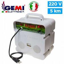 Elettrificatore E/220 per Recinto Elettrico recinzioni elettrificate 5 km Gemi