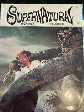 SUPERNATURAL HORROR FILMING rare 1968 magazine no 2