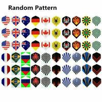 30PCS Professional Popular National Flag Pattern Nice Darts Tail Flights Wing