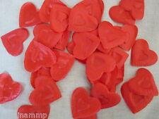 1000 petali di tessuto rossi a cuore SAN VALENTINO rosa SPEDIZIONE GRATIS stoffa