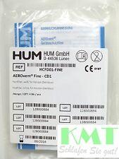 Feinfilter-Set (4 St.) HUM Filter Aerovent Fine - CD1, für Devilbiss Horizon/RPM