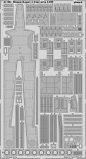 Eduard 53081 1/200 Ship- Bismarck Front Area Pt.2 for Trumpeter