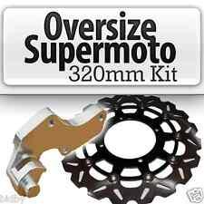 RMZ450 RMZ250 FREIN AVANT OVERSIZE SUPERMOTO rotor disque 320mm + crochet