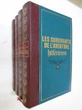 JEAN DUMONT - LES SURVIVANTS DE L'AVENTURE HITLERIENNE - 1975 - Famot - Tome 4/4