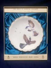 Royal Worcester The Birds Of Dorothy Doughty plate Blue Grey GnatcatchersIN BOX