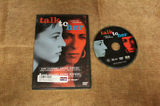 Talk to Her (Dvd 2003) Rosario Flores Deep Comas Spanish with English Subtitles